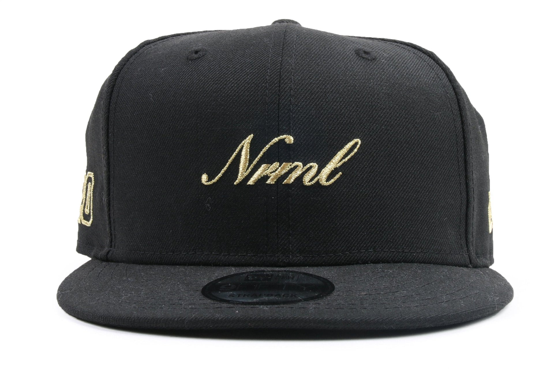 NRML SCRIPT BLACK GOLD HATS NRML BLACKGOLD ONE SIZE D17