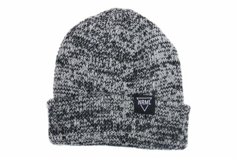 NRML BEANIE CHARCOAL HEATHER