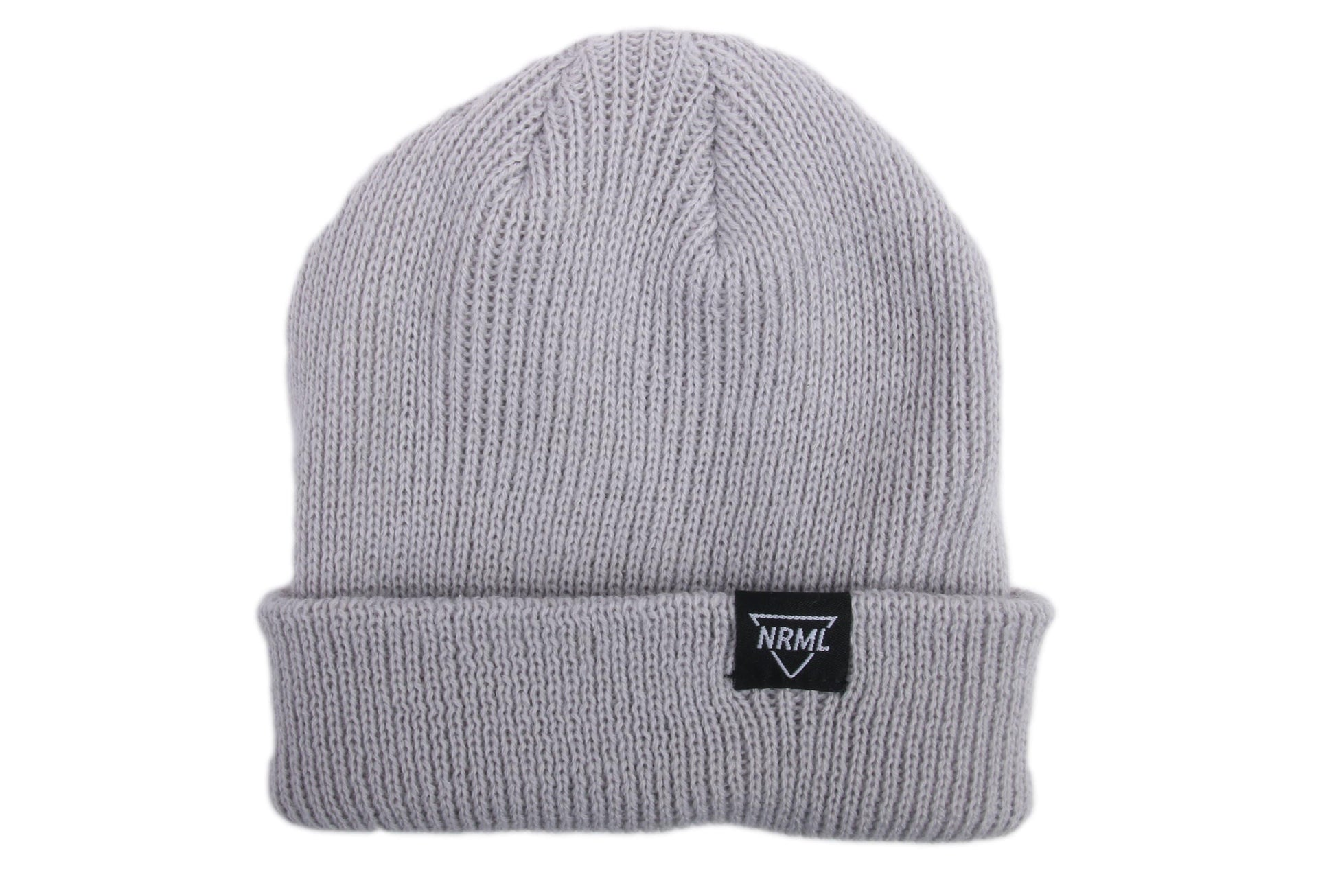 NRML BEANIE GREY HATS NRML GREY ONE SIZE