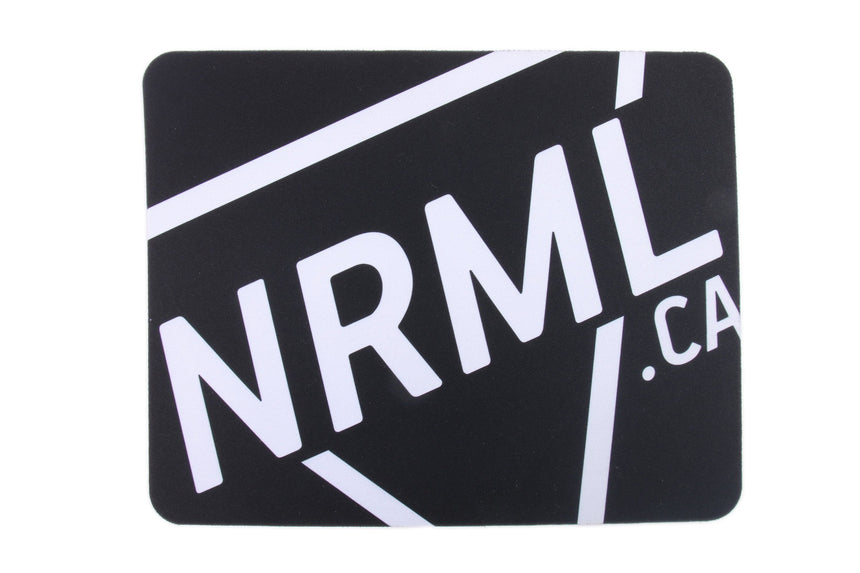 NRML MOUSE PAD ACCESSORIES NRML BLACK ONE SIZE