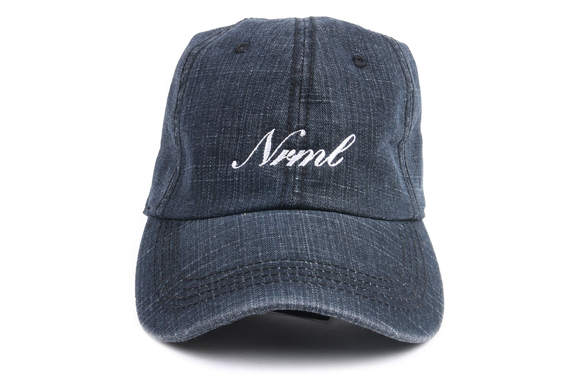 NRML SCRIPT ONE SIZE HATS NRML BLACK DENIM ONE SIZE