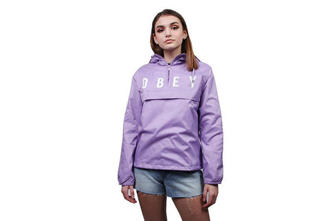 ANYWAY ANORAK COACH JACKET - LAVENDER
