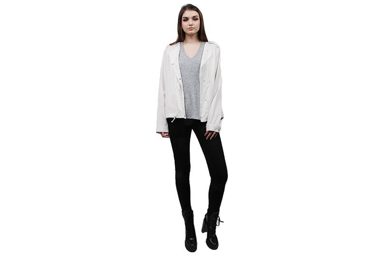 TOPHER LT JACKET WOMENS SOFTGOODS GENTLEFAWN WHITE XS