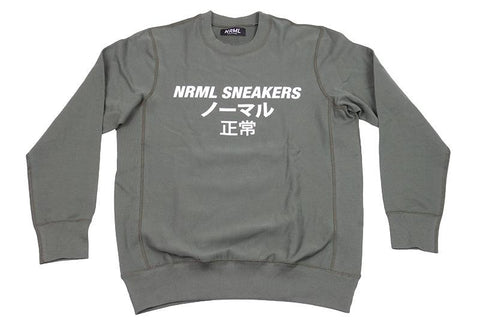 NRML SNEAKERS LIGHTWEIGHT CREWNECK