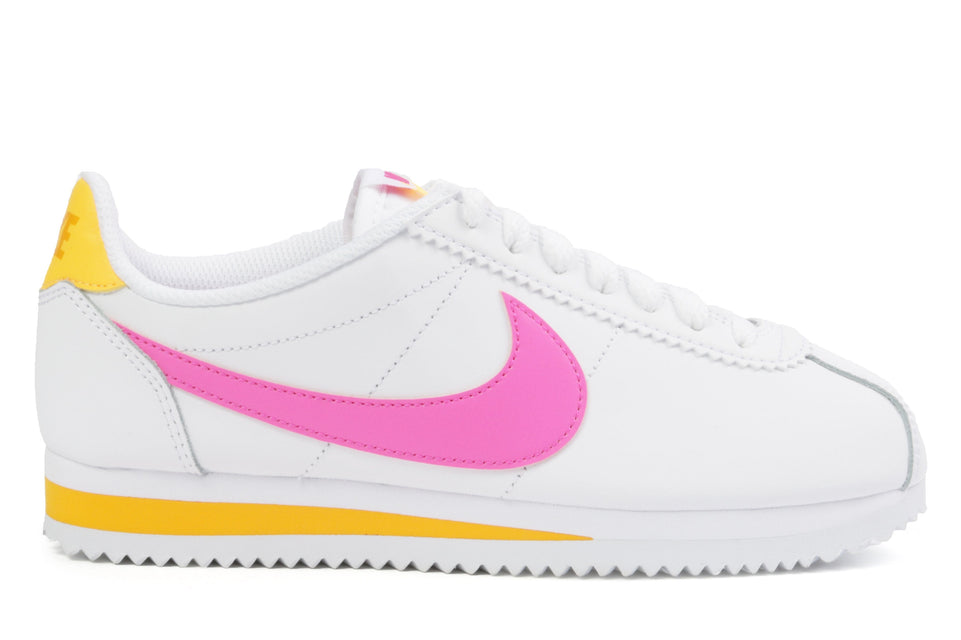 WMNS CLASSIC CORTEZ LEATHER - 807471-112 WOMENS FOOTWEAR NIKE