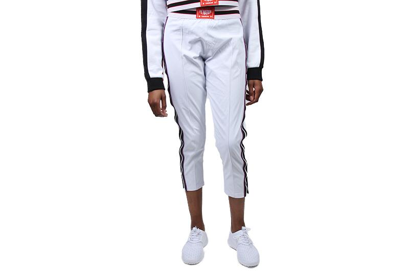 TRACK AND FIELD PANT WOMENS SOFTGOODS P.E NATION 18PE1PO58 XS WHITE
