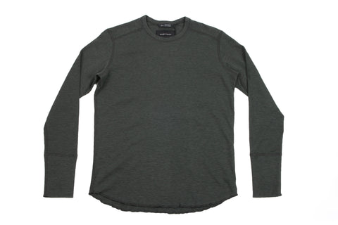 1X1 SLUB LONG SLEEVE CREWNECK - WI-2119