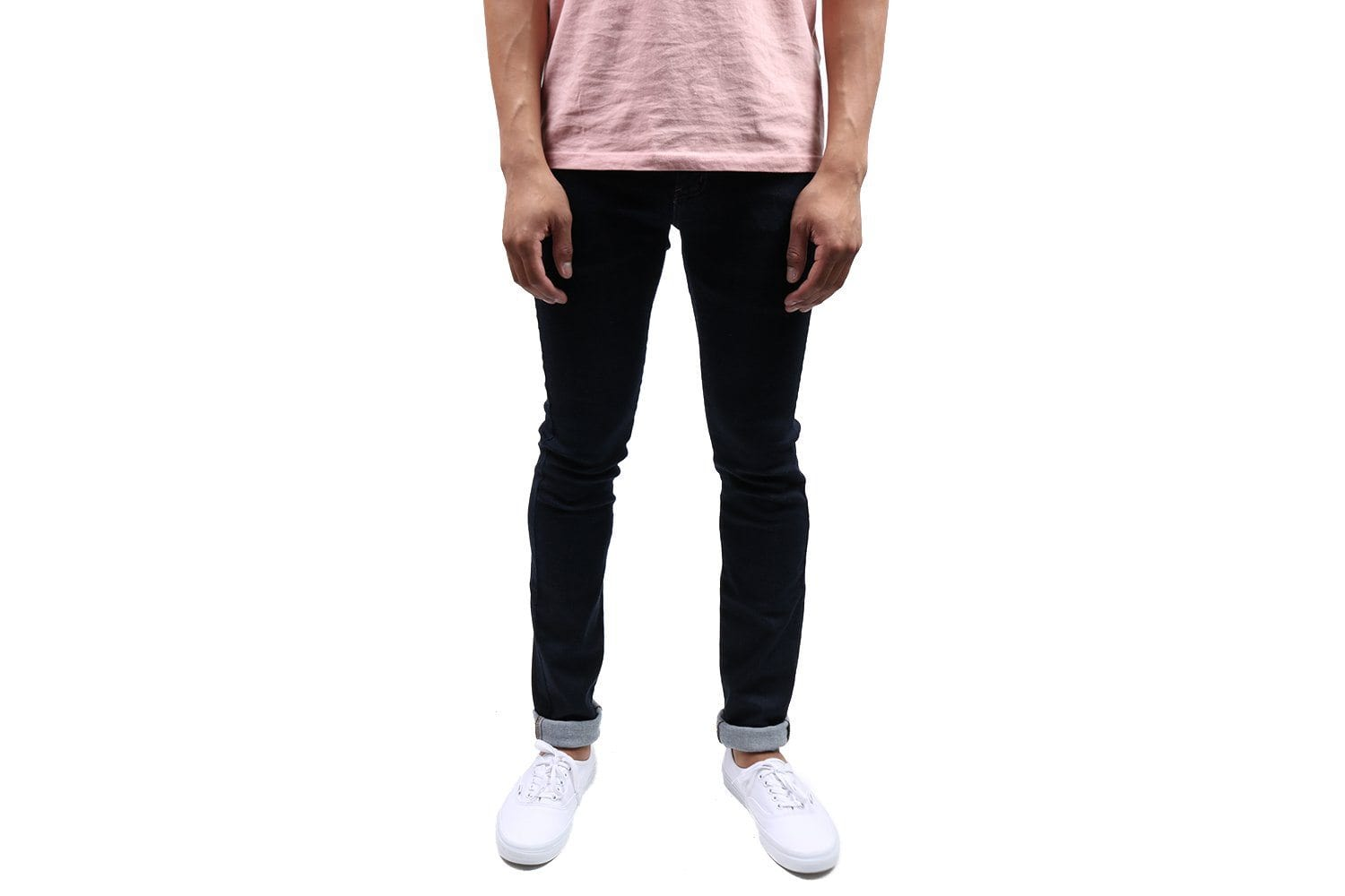 SUPERSKINNYGUY-ACTIVE MOTION DEN MENS SOFTGOODS NAKED & FAMOUS