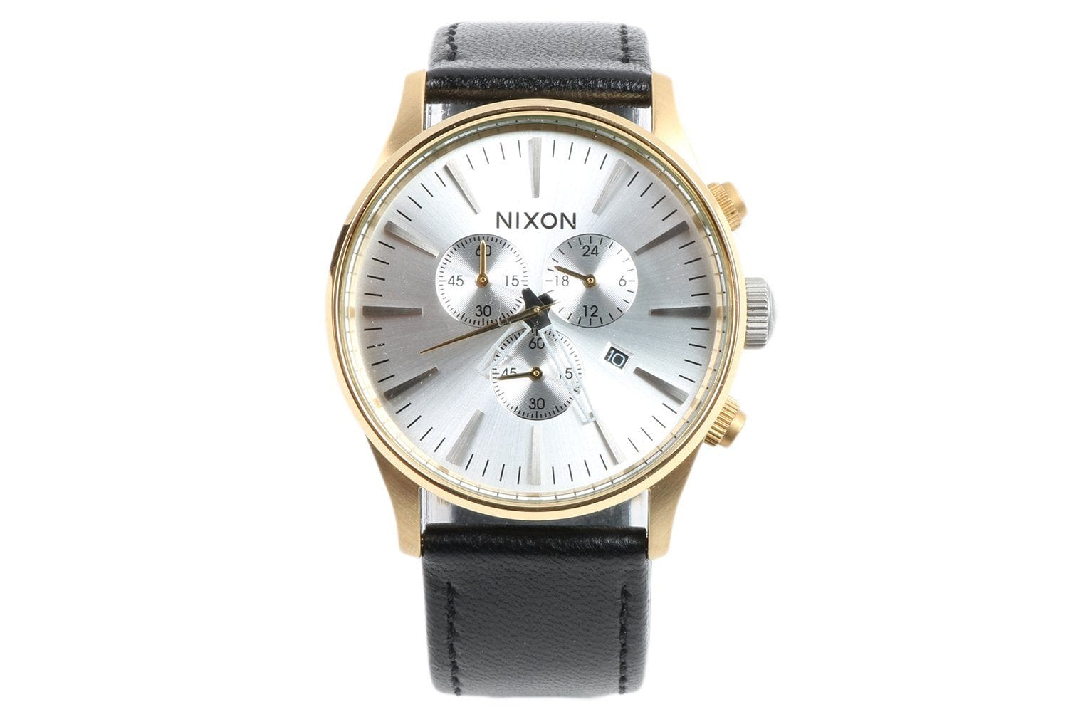 NRML X NIXON 20 YEAR SENTRY CHRONO WATCHES NIXON BLACK/GOLD ONE SIZE
