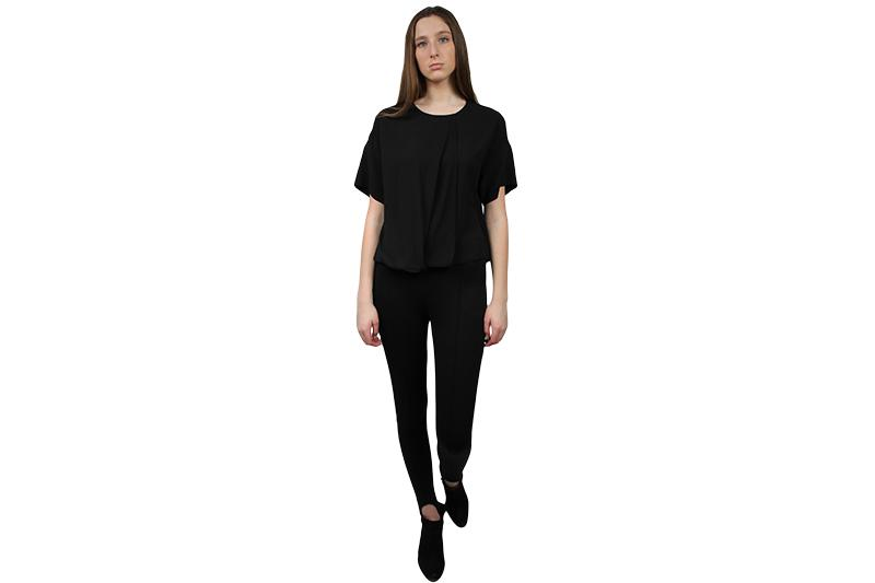 NAO TEE WOMENS SOFTGOODS JUST FEMALE BLACK XS