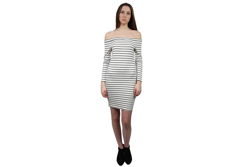 BRIDGET BODYCON DRESS WOMENS SOFTGOODS JACK IVORY XS BI108561