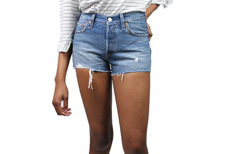 501 SHORT BACK TO YOUR HEART WOMENS SOFTGOODS LEVIS