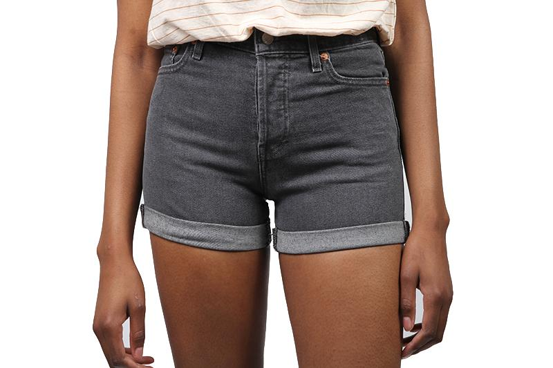 WEDGIE SHORT WOMENS SOFTGOODS LEVIS 5236000080 black 25