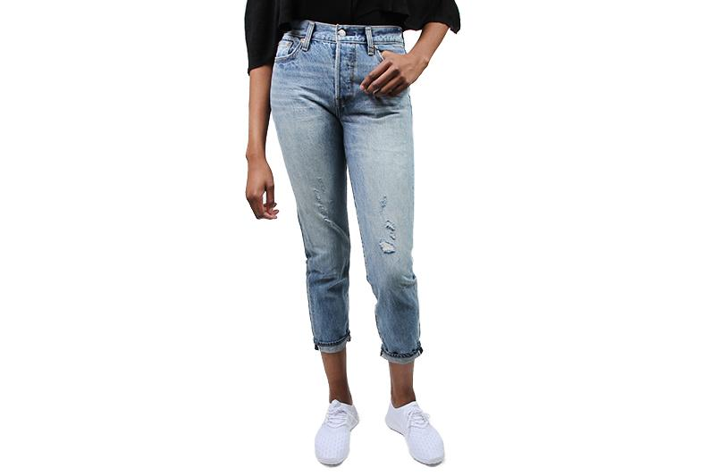 WEDGIE ICON WOMENS SOFTGOODS LEVIS 2286100040 BLUE 25