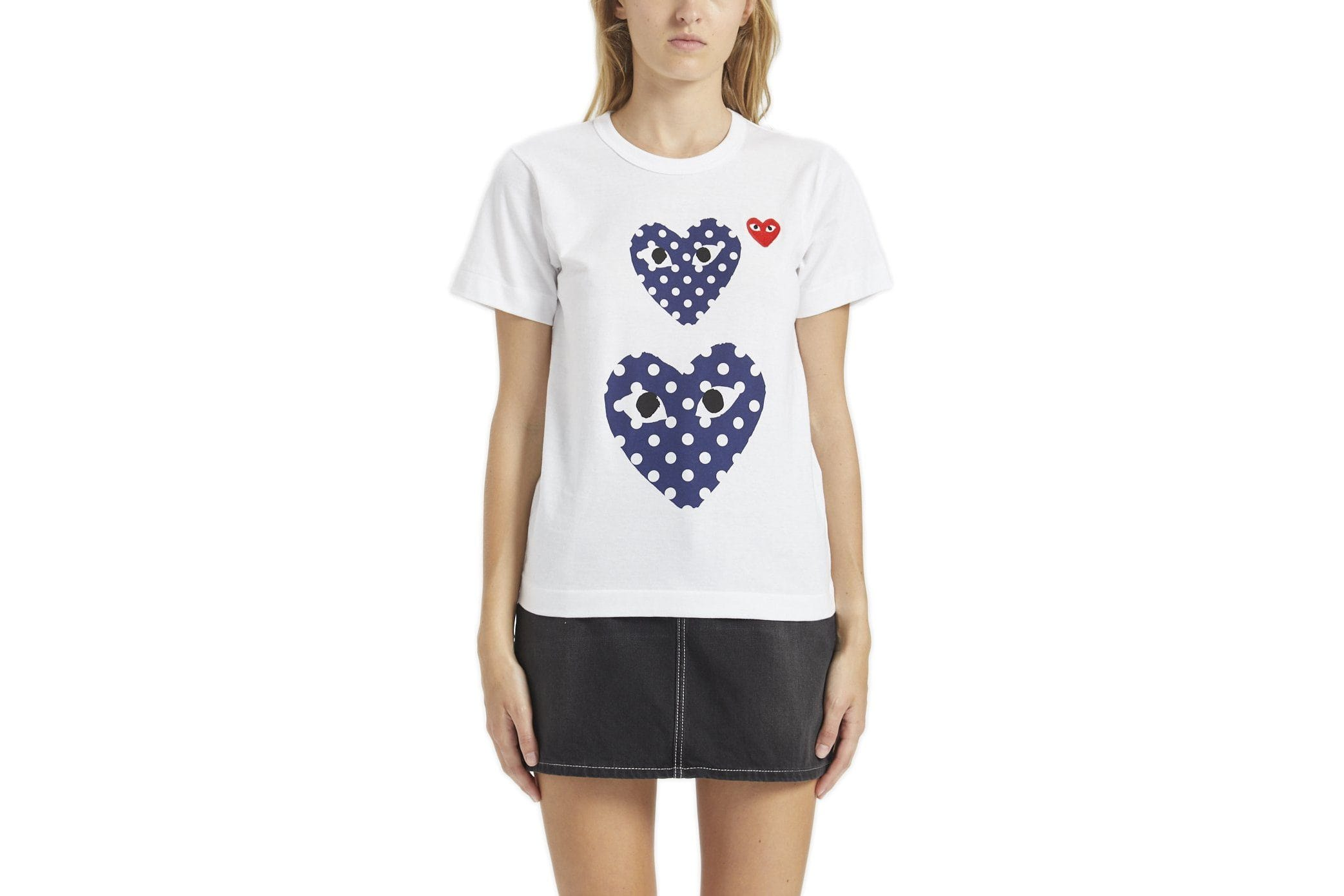 SMALL RED HEART/TWO POLKA DOT HEARTS - AZT237