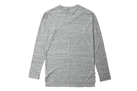 L/S DROP SHOULDER KNIT TEE
