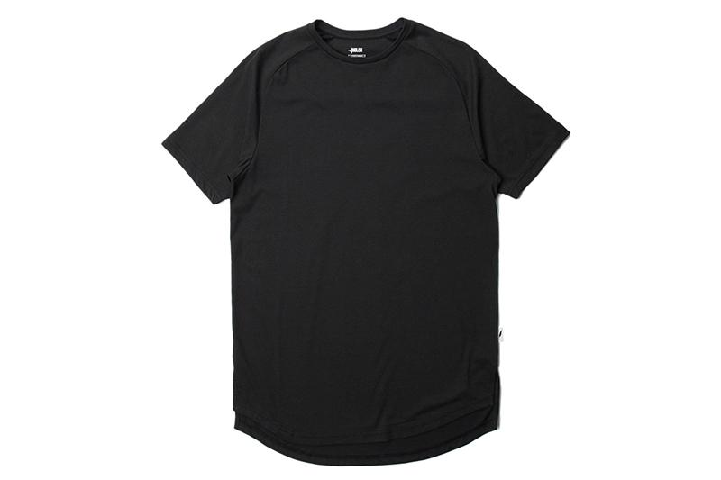 S/S RAGLAN KNITTED TEE MENS SOFTGOODS PUBLISH BLACK S