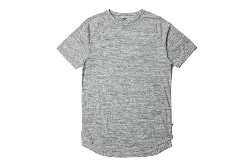 S/S RAGLAN KNITTED TEE MENS SOFTGOODS PUBLISH heather M