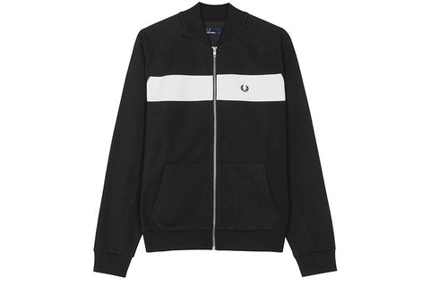 REVERSE TRICOT TRACK JACKET - J3528