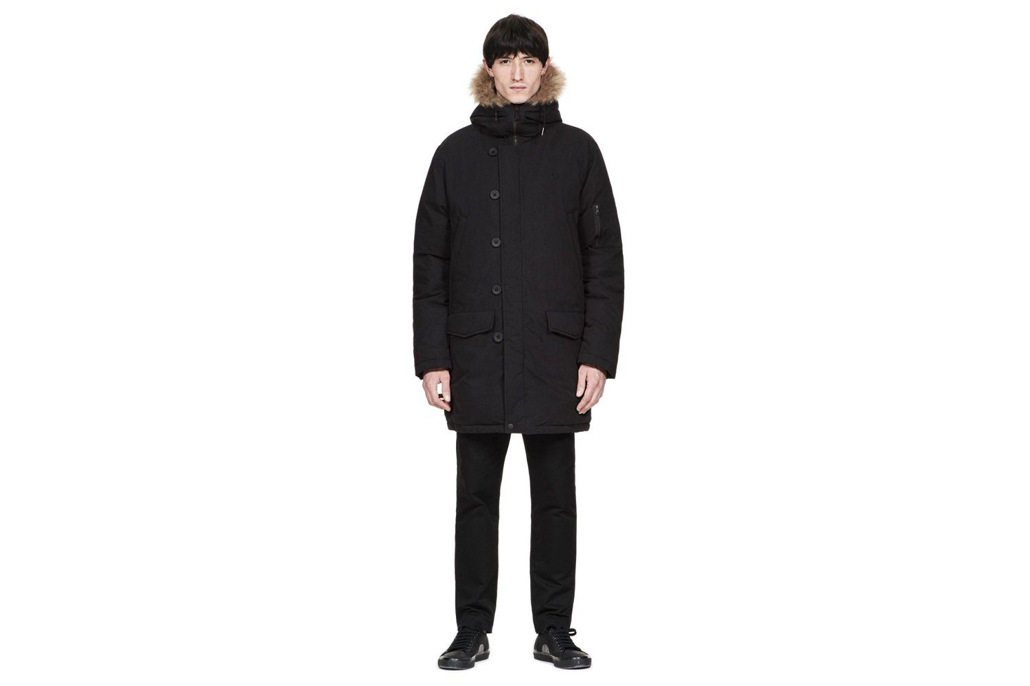 DOWN SNORKEL PARKA-J4517 MENS SOFTGOODS FRED PERRY
