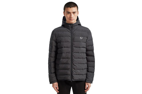 INSULATED HOODED JACKET-J7516 MENS SOFTGOODS FRED PERRY