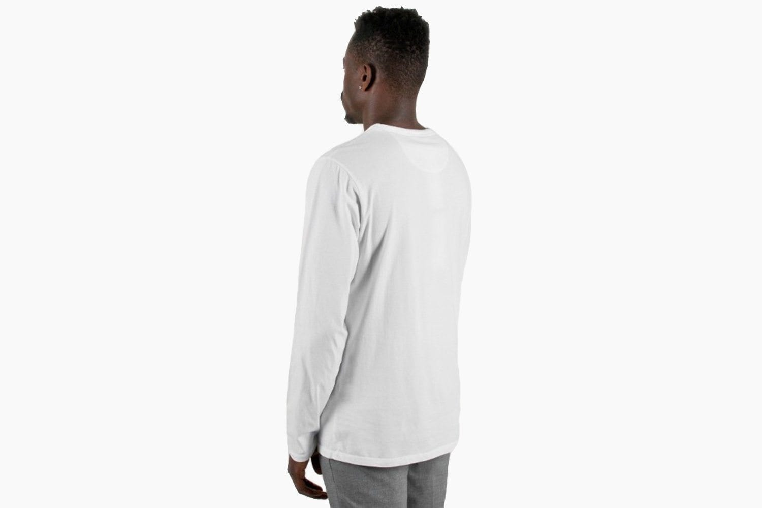 JAMES PIMA L/S TEE - AA0011JS01 MENS SOFTGOODS SATURDAYS NYC