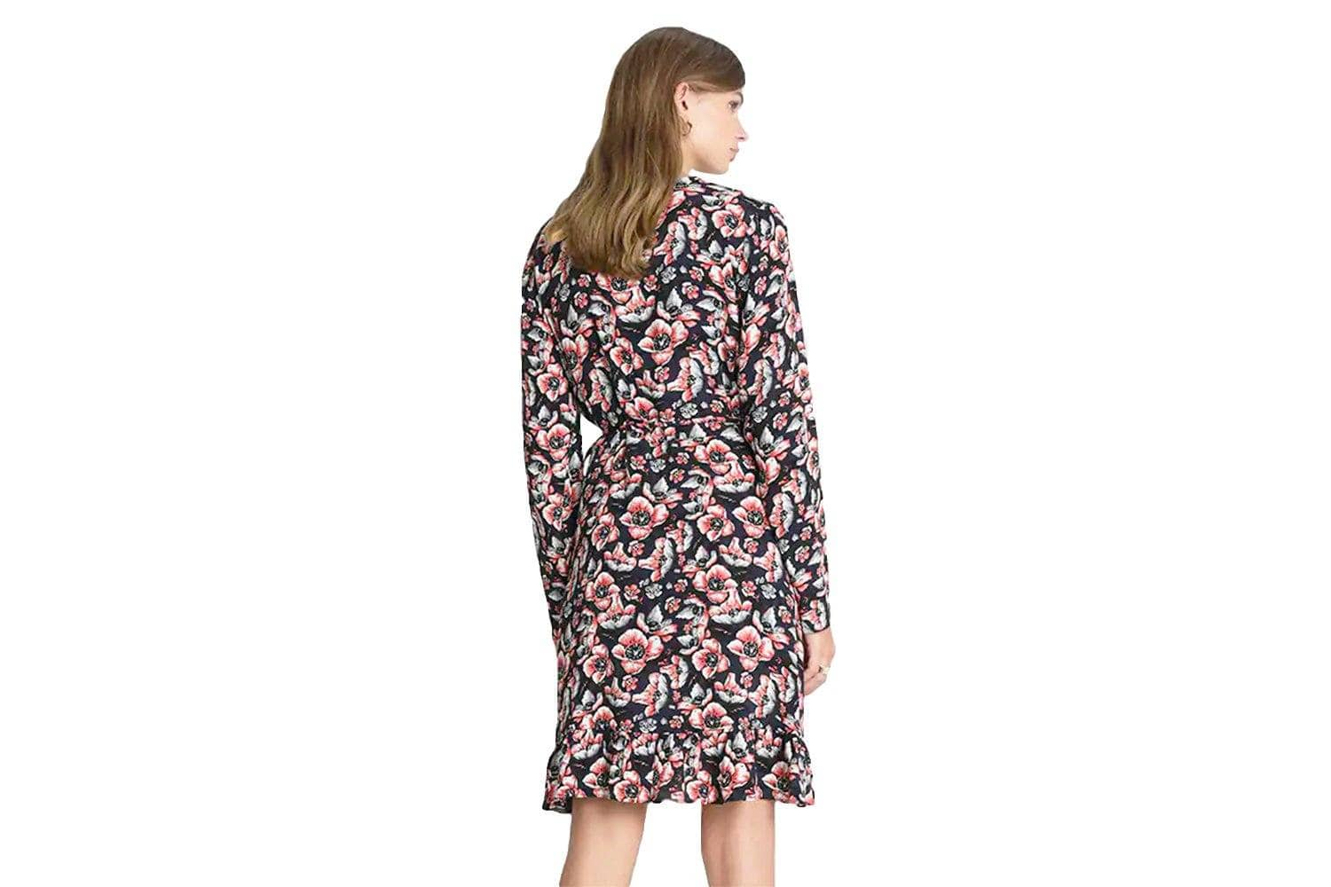 SEAN WRAP DRESS - 11629 WOMENS SOFTGOODS JUST FEMALE