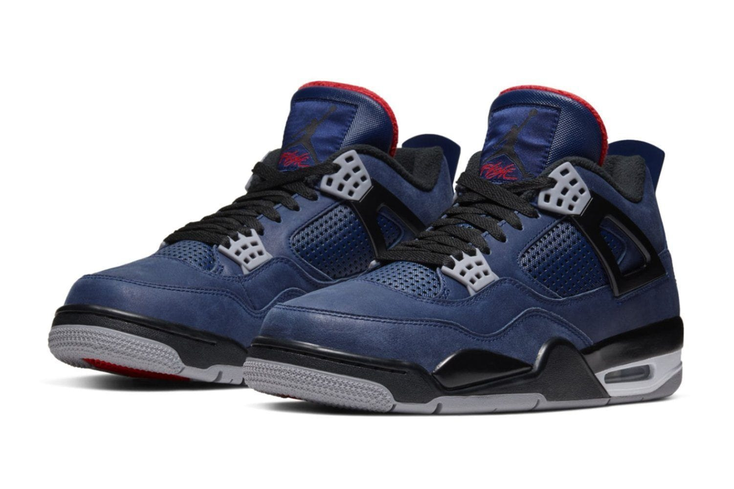 AIR JORDAN 4 RETRO WNTR - CQ9597-401 MENS FOOTWEAR JORDAN