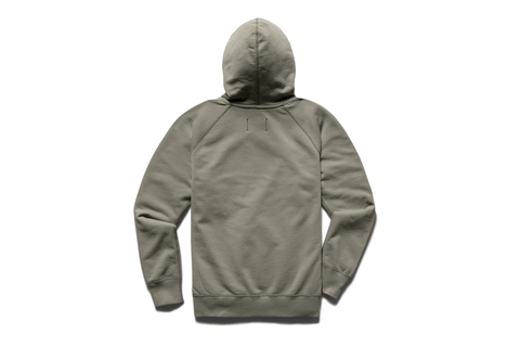 KNIT MID WT TERRY PULLOVER HOODIE-RC-3206