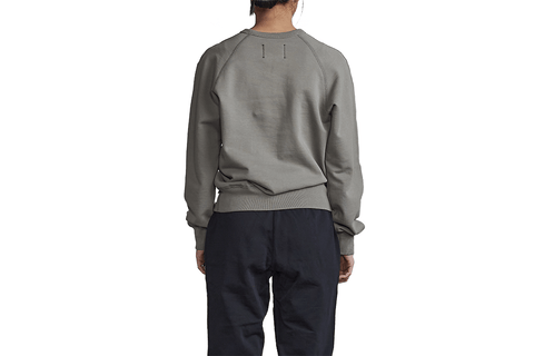 KNIT MID WT TERRY RELAXED CREWNECK - RC-W3030