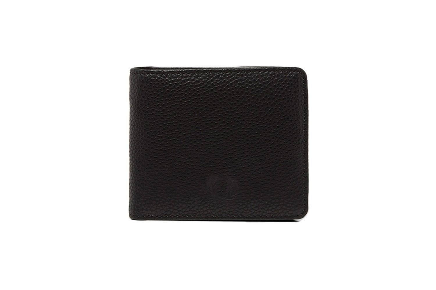 TUMBLED PU BILLFOLD WAL ACCESSORIES FRED PERRY BLACK ONE SIZE