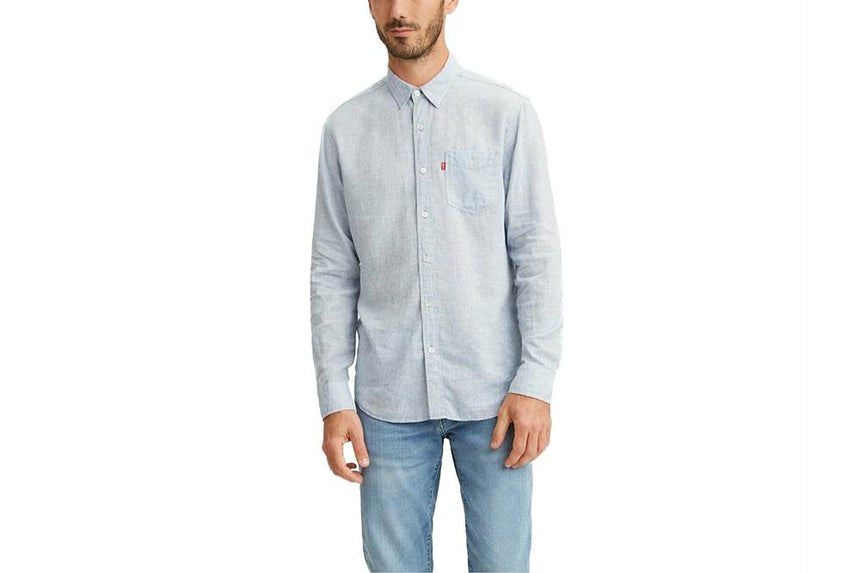 LEVIS TENCEL BUTTON UP - 8574600100 MENS SOFTGOODS LEVIS