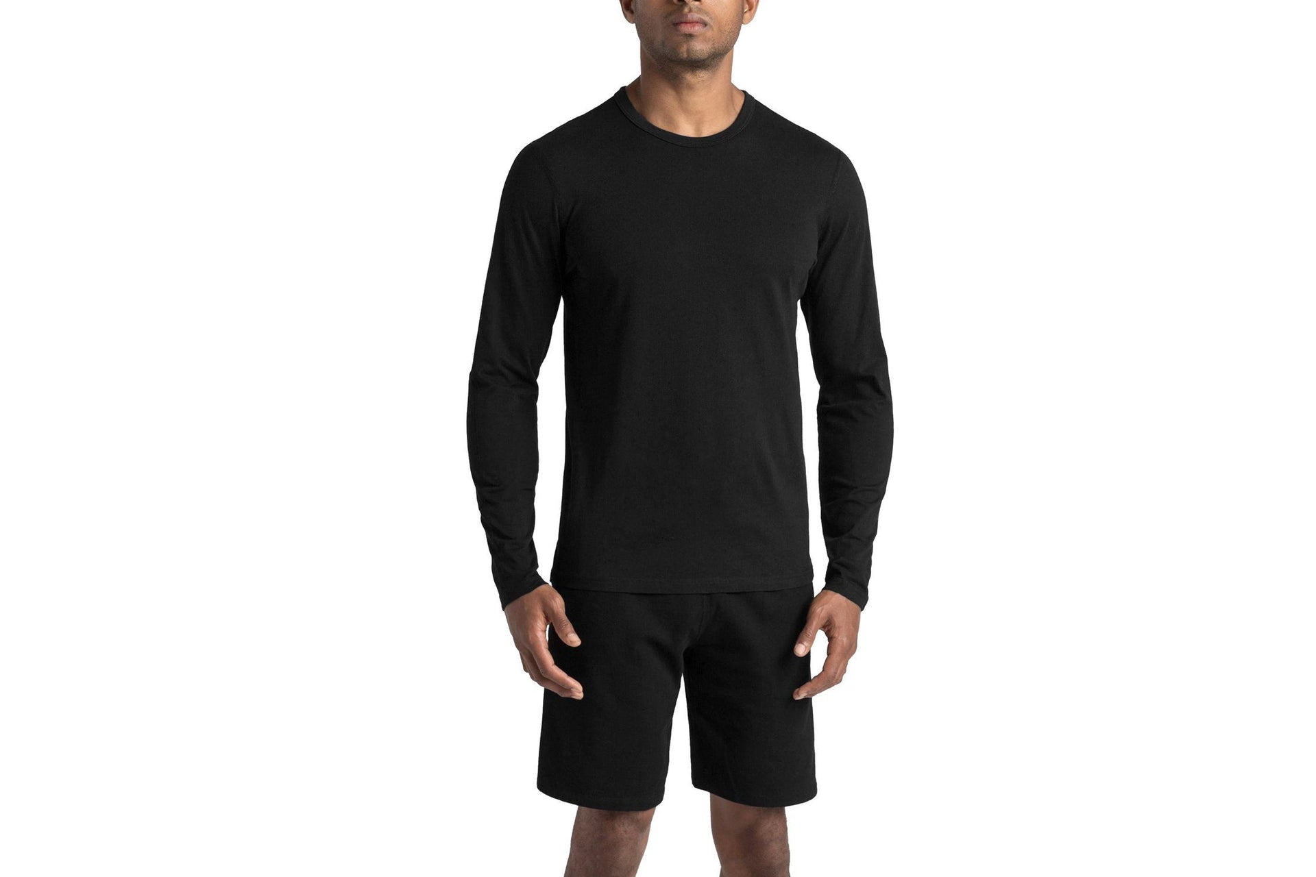 KNIT COTTON JERSEY LONG SLEEVE CREWNECK RC-2087 MENS SOFTGOODS REIGNING CHAMP