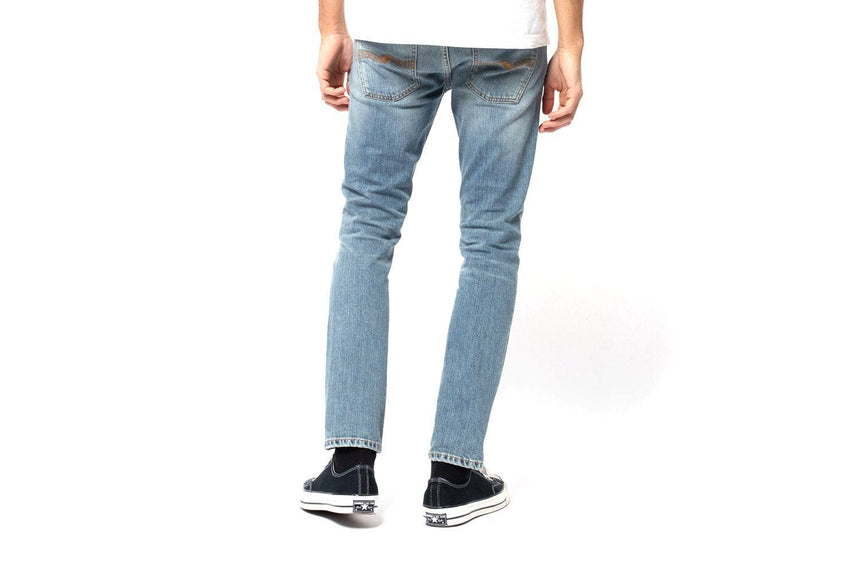 GRIM TIM 'LUCKY BLUES' - 113273 MENS SOFTGOODS NUDIE JEANS
