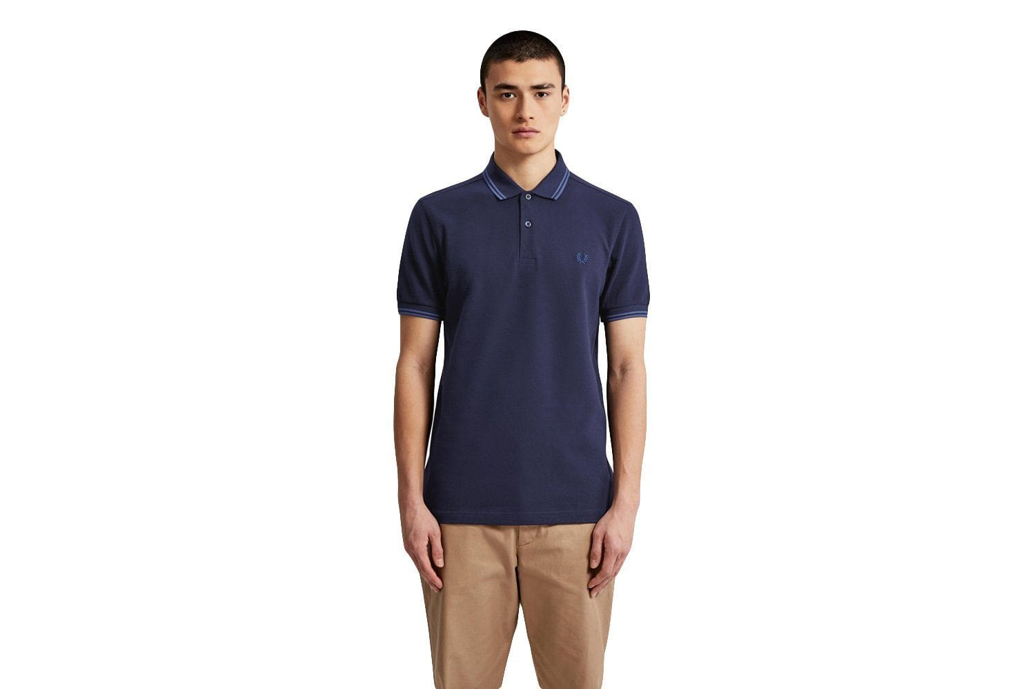 TWIN TIPPED POLO SHIRT - M3600 MENS SOFTGOODS FRED PERRY