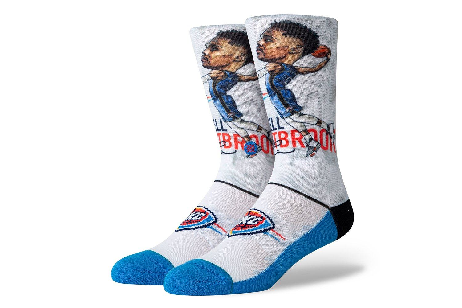 NBA WESTBROOK BIG HEAD - M548A19WES ACCESSORIES INSTANCE BLUE/WHITE L
