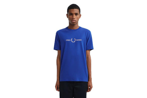 GRAPHIC T-SHIRT - M7514 MENS SOFTGOODS FRED PERRY