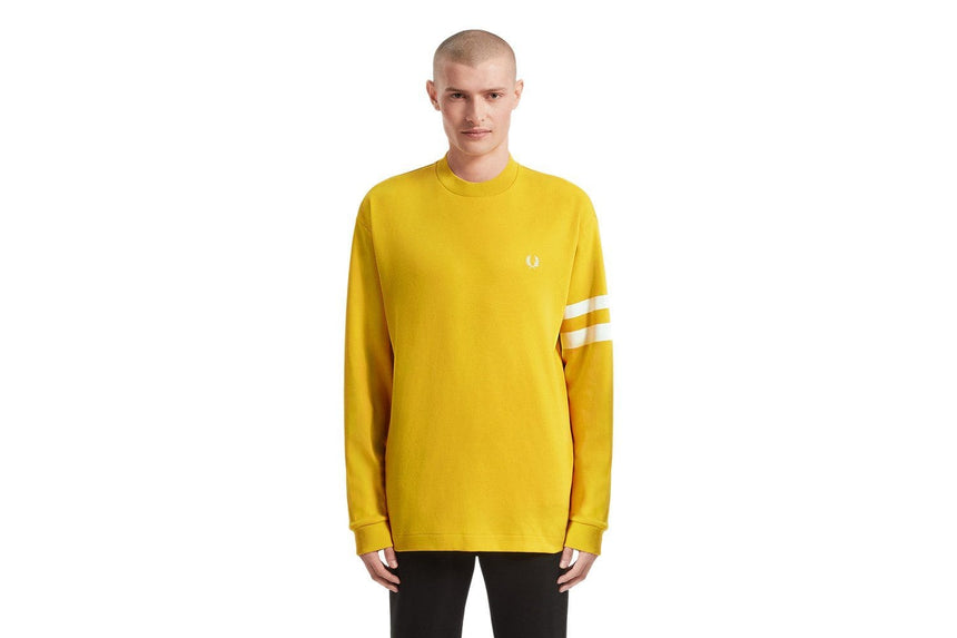 TIPPED SLEEVE T-SHIRT - M7522 MENS SOFTGOODS FRED PERRY