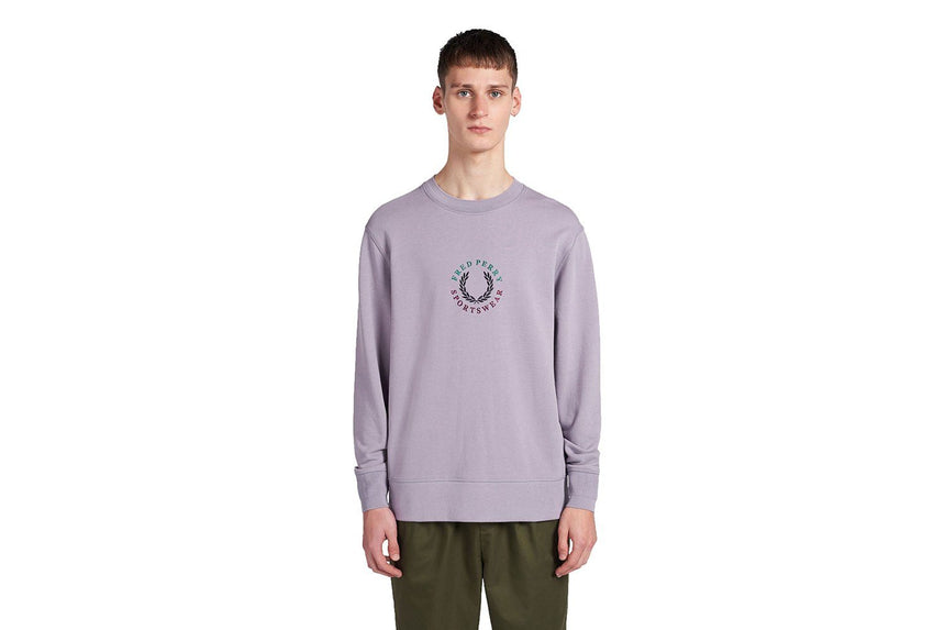 GLOBAL BRANDED SWEATSHIRT - M8602 MENS SOFTGOODS FRED PERRY