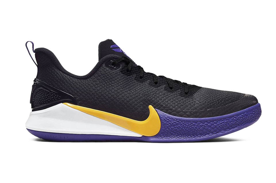 The Mamba Focus By Nike. Side view.