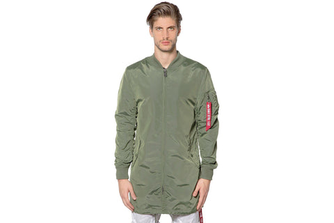 ALPHA MA-1 LONG JACKET