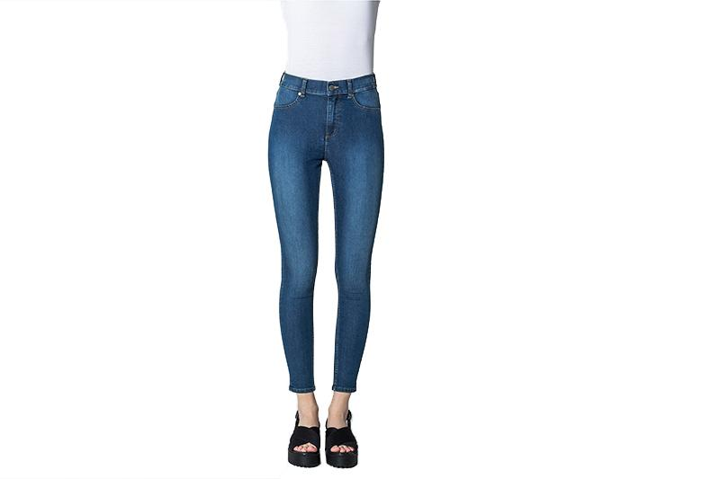 HIGH SPRAY PANT WOMENS SOFTGOODS CHEAP MONDAY MID BLUE 31