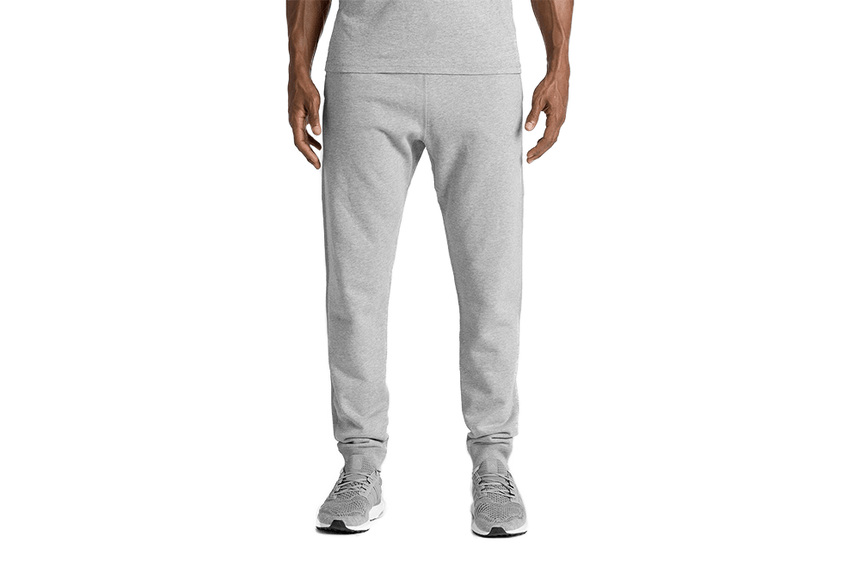 MID WT TERRY SLIM SWEATPANT H.GREY - RC - 5075 MENS SOFTGOODS REIGNING CHAMP