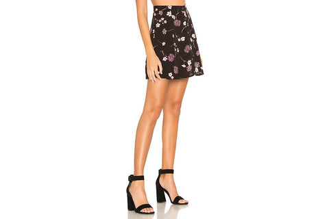 NIGHT GARDEN MINI SKIRT - IM19S1432