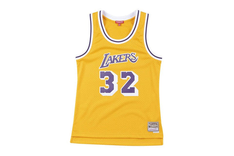 NBA LAKERS WOMENS JERSEY MAGIC JOHNSON #32 - WJY18120LAL84EJ