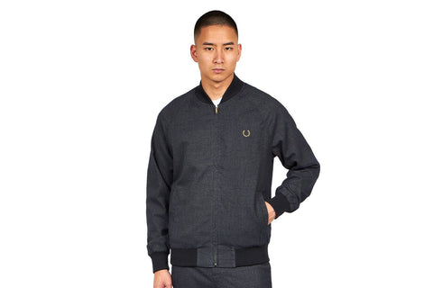 MILES KANE BOMBER JACKET MENS SOFTGOODS FRED PERRY