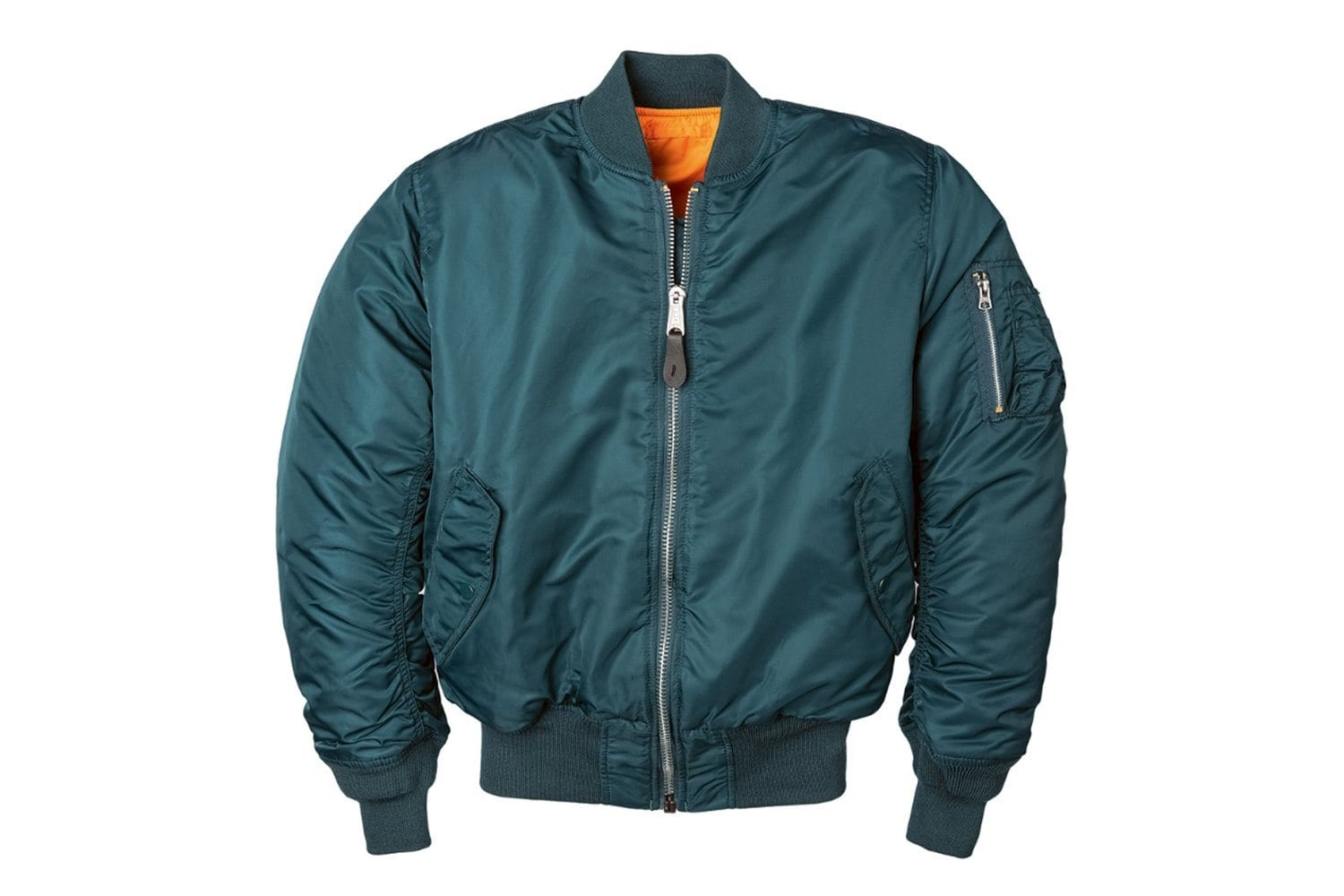 ALPHA MA-1 FLIGHT JACKET MENS SOFTGOODS ALPHA INDUSTRIES NAVY L