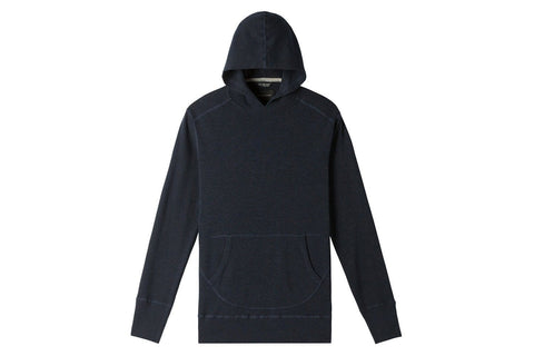 1X1 SLUB HOODED PULLOVER MENS SOFTGOODS WINGS+HORNS NAVY S