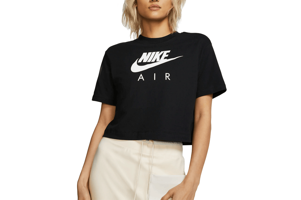 NIKE AIR TEE - BV4777-010 WOMENS SOFTGOODS NIKE