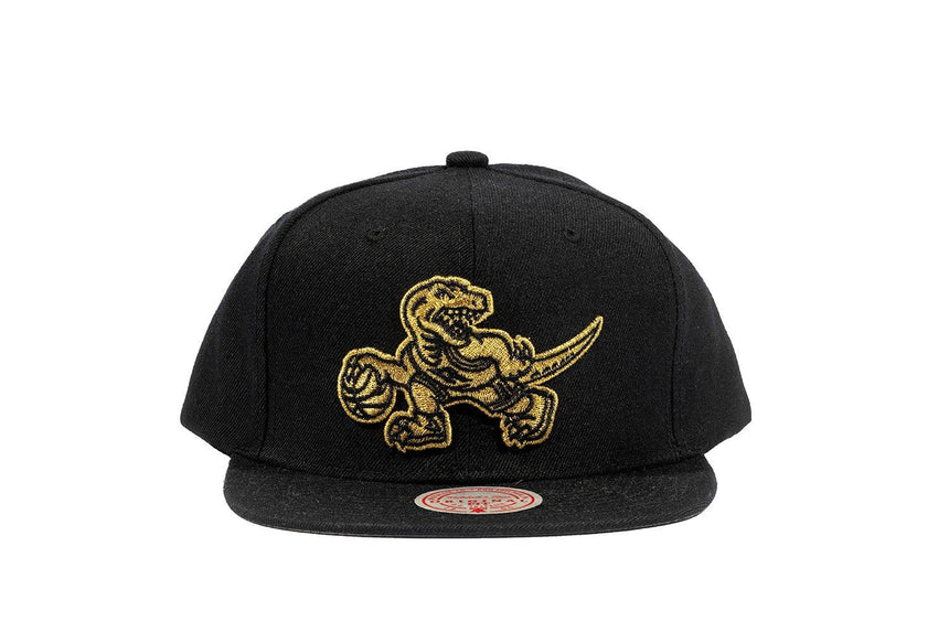 NBA TORONTO RAPTORS TM GOLD - 6HSSB17689XTRAK HATS MITCHELL & NESS